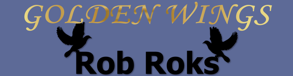Golden Wings - Rob Roks logo